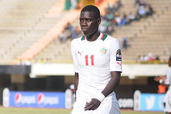 Le Sénégalais Ismaïla Sarr, le benjamin des footballeurs de la CAN 2017