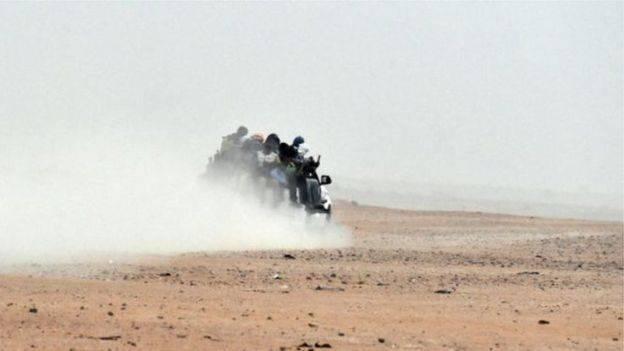 Près de 200 clandestins nigériens rapatriés — Libye