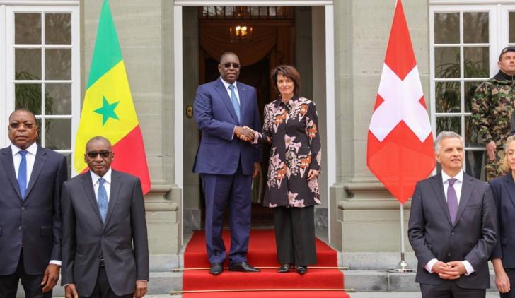 Sénégal-Suisse: Macky Sall pour un renforcement de l'axe Dakar-Berne