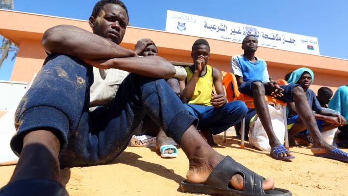 Sénégalais rapatriés de la Libye