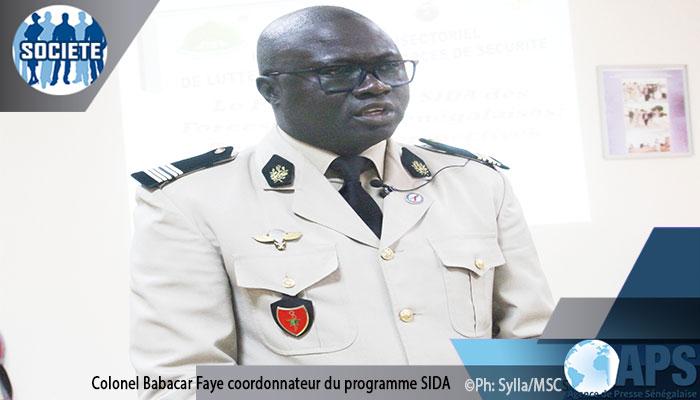 Mise au point: L'Armée sénégalaise a le plus faible taux de prévalence du VIH parmi ses homologues africaines(Coordonateur)