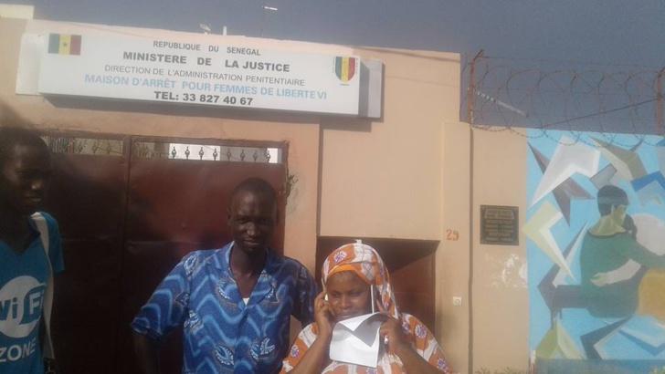 Photomontage du Président : Oulèye Mané vient de sortir de prison