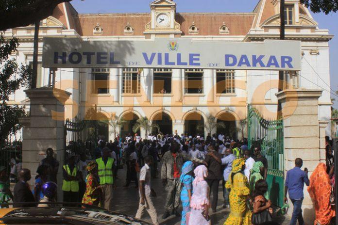 Hôtel de ville de Dakar: Rassemblement des partisans de Khalifa Sall