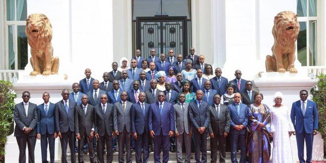 Gouvernement: Communiqué du Conseil des ministres du mercredi 11 octobre 2017