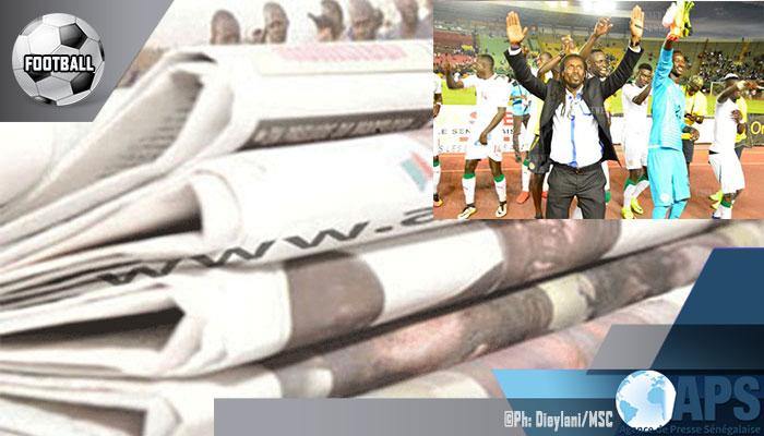 Presse-revue: Les journaux célèbrent le ticket des lions pour le Mondial 2018