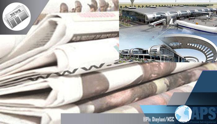 Presse-revue: L'ouverture officielle de l'AIBD en exergue