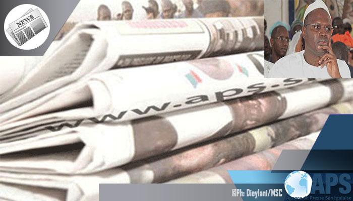 Presse-revue: Les journaux anticipent sur la reprise du procès de Khalifa SALL