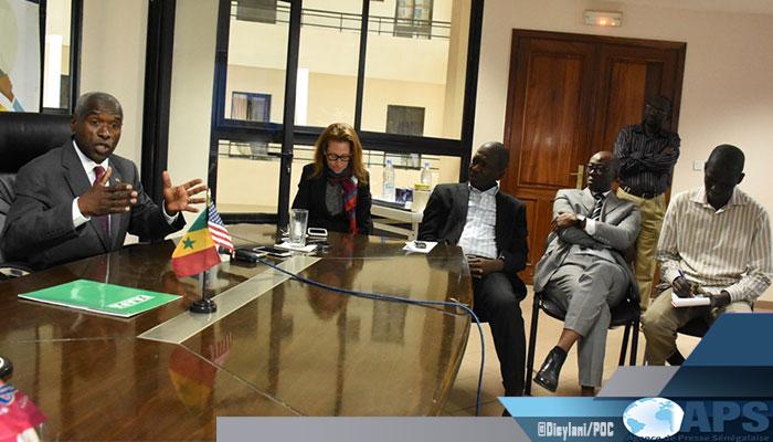 Diplomatie: L'ambassadeur des USA vante le leadership de Dakar