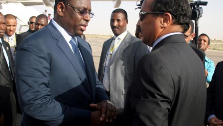 """Conflit: Les présidents mauritaniens et sénégalais ont """"la sagesse de résoudre tout conflit entre nos deux pays"""" (ABDEL AZIZ)"""