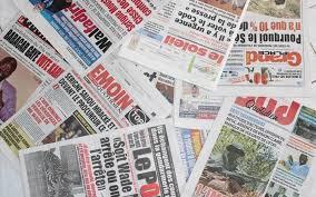 Presse-revue: Me WADE et le rapport de l'UE sur le processus électoral à la UNE