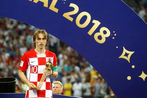 Coupe du Monde 2018: Luka Modric désigné «Ballon d'or» du tournoi