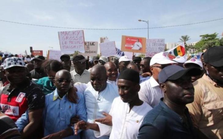 L'opposition va organiser une marche de protestation le jeudi 29 novembre 2018