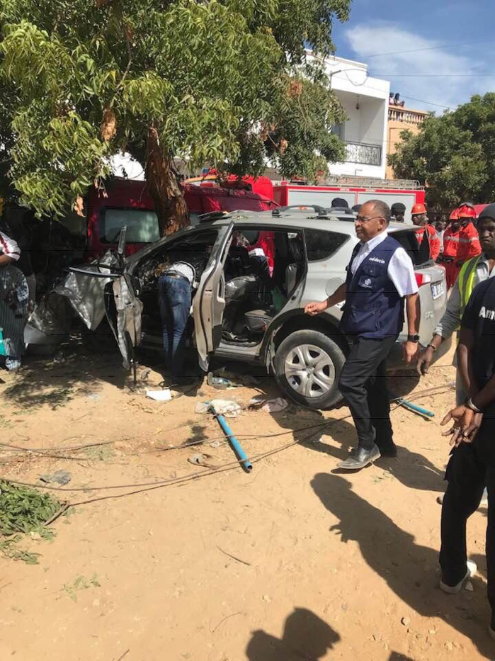 DAKAR - VIOLENT ACCIDENT À AMITIÉ 1 7 MORTS ET 2 BLESSES GRIEVEMENT