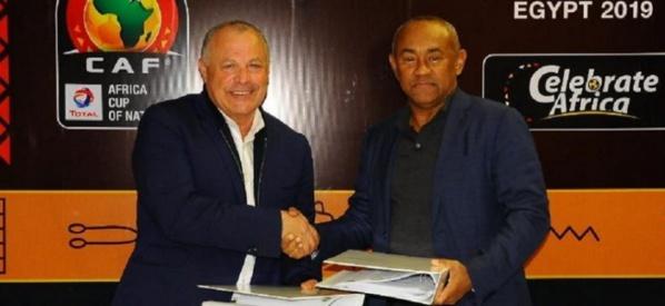 L'Egypte et la CAF ont signé l'accord cadre pour la CAN 2019