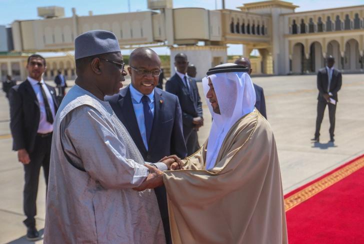 Macky Sall en visite aux Émirats Arabes Unis