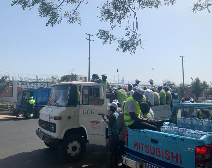 Le désencombrement de Dakar bat son plein