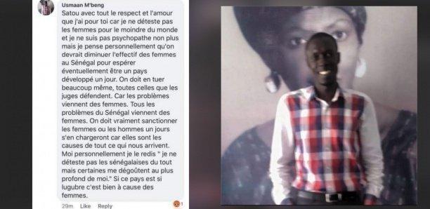 Ousmane Mbengue arrêté après avoir diffusé sur Facebook un commentaire visant à tuer toutes les femmes