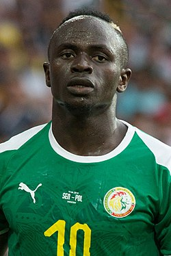 L'attaquant sénégalais Sadio Mané
