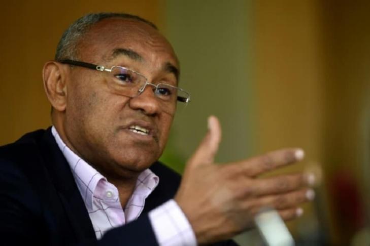 Le président de la Confédération africaine de football (CAF)