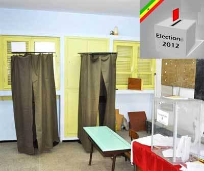 Le vote a démarré dans l'après-midi, dans certains villages du département de Bignona