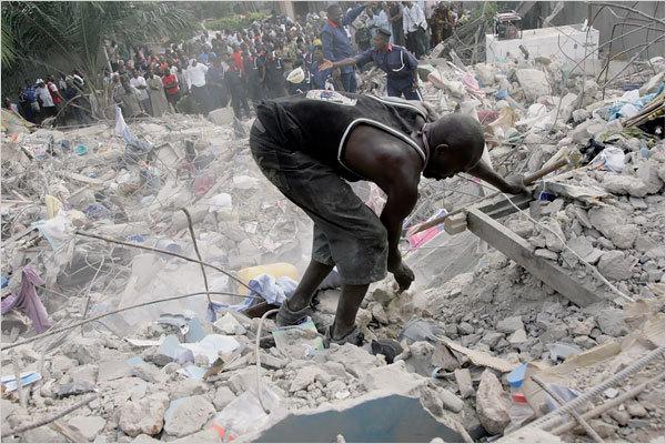 DAKAR: Un balcon s'effondre et fait 5 blessés