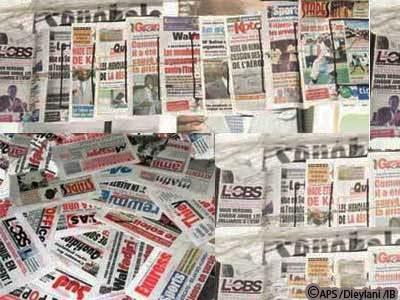 PRESSE REVUE: Les quotidiens tournés vers les premières tendances des législatives