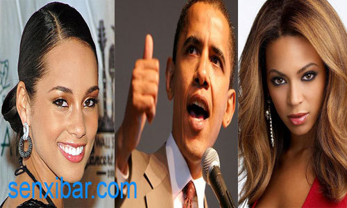 campagne présidentielle     Alicia Keys et Beyonce aident Barack Obama