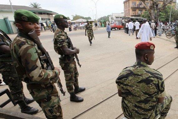 Cinq militaires ivoiriens abattus à Abidjan