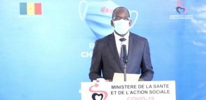 Covid-19 au Sénégal : 18 cas graves en réanimation et 31 nouveaux tests positifs
