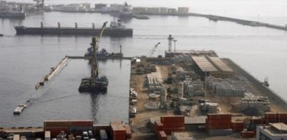 Port : Un camion-citerne tombe dans la mer et fait 1 mort