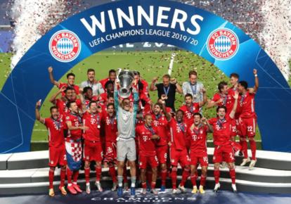 Le Bayern Munich vainqueur de la Ligue des Champions