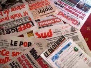 PRESSE-REVUE: La traque des biens mal acquis et d'autres sujets à la Une des quotidiens