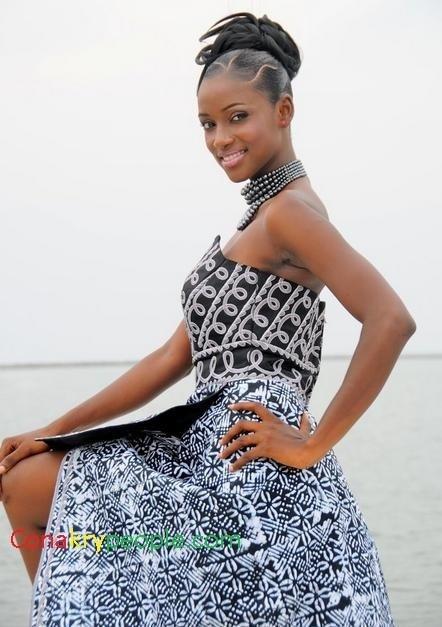 Photos - La Guinéenne Mariam Diallo, élue Miss CEDEAO 2012