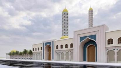 Tivaouane : La maquette de la Grande mosquée dévoilée... (IMAGES)