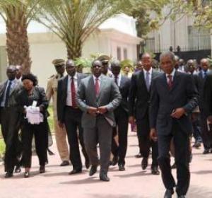 CEREMONIE: arrivée de la délégation officielle pour la clôture du Magal de Touba