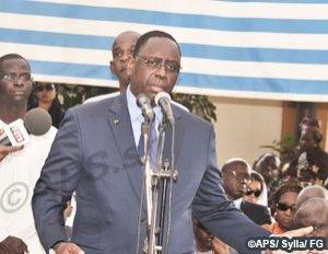 "Macky Sall : ''Ousmane Masseck Ndiaye était un combattant infatigable du développement"""