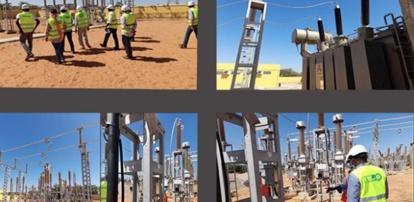 Nouvelle ligne Haute Tension : une source d'énergie plus stable pour les usines de production de KMS