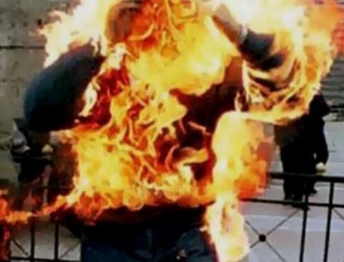 Dernière minute : Une dame, en bisbille avec son mari, s'immole par le feu