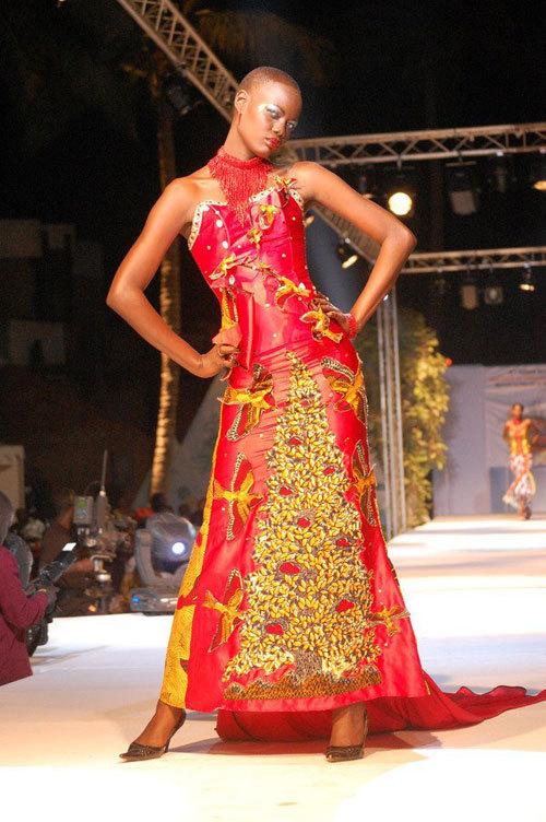 Mame Diarra Dieng la top modèle sénégalaise d'Italie une vraie bête de scène !!!