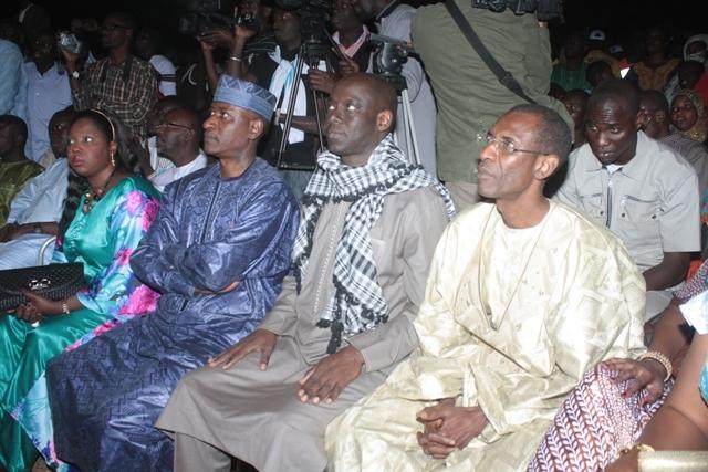 Festival à Sahel ouvert: Youssou Ndour chante devant ses collègues ministres
