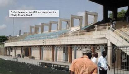 Stade Assane Diouf : Le Collectif René Sanchez réclame l'infrastructure en entier