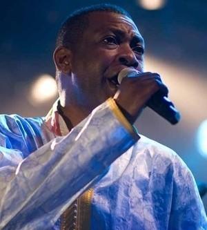 Youssou Ndour en concert à Bercy le 12 octobre 2013