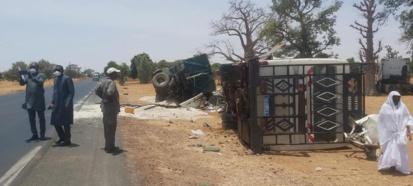 FATICK - Des vies emportées dans un violent choc entre un bus et un camion