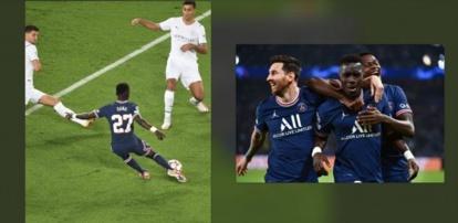 [Vidéo] PSG-Manchester City : Le missile de Gana Gueye enregistré à 100Km/H