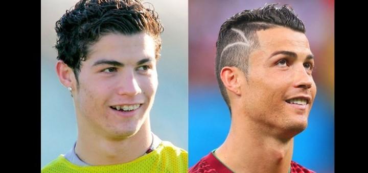 Cristiano Ronaldo Avant Et Apr 232 S Photo