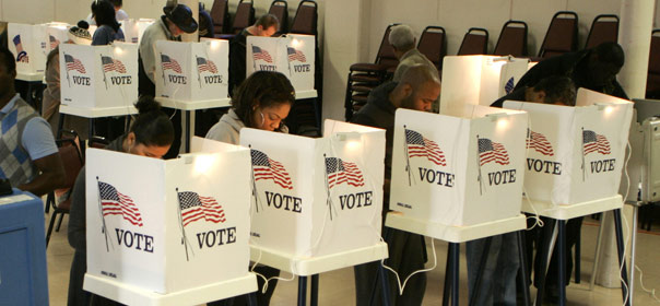 Lections am ricaines ouverture des bureaux de vote pour for Ouverture bureau vote 13 decembre