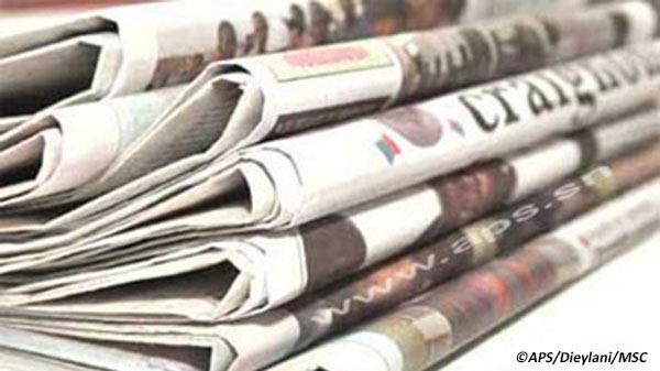 Presse-revue: La déclaration du nouveau Khalife général des tidianes à la Une