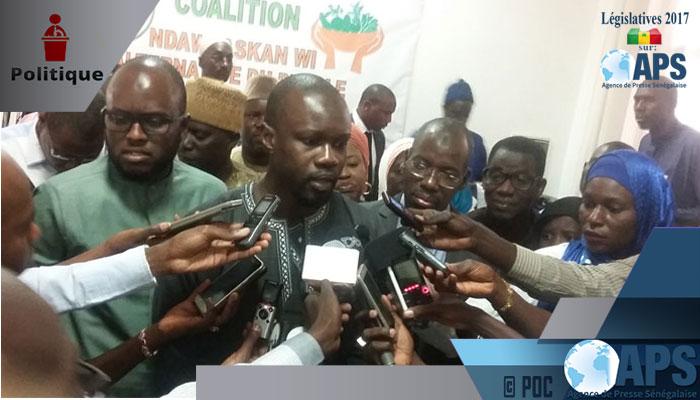 """Ousmane SONKO: """"Ceux qui ont voté pour Macky à """"coût"""" de 5000 f n'ont qu'à assumer"""""""