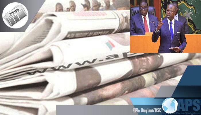 Presse-revue: Le ''Grand oral'' du PM décortique par les quotidiens