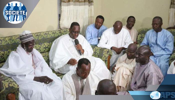 Nécrologie-Réaction: Macky SALL salue l'oeuvre et la mémoire de Serigne Cheikh Sidy Moctar MBACKÉ